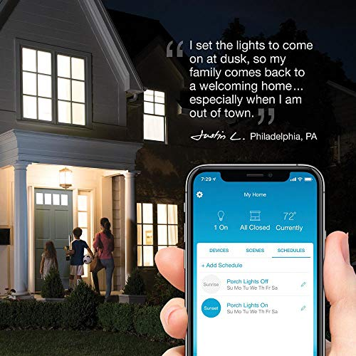 Lutron Caseta Smart Start Kit, Dimmer Switch (2 Count) with Smart Bridge and Pico remotes, Works with Alexa, Apple HomeKit, and the Google Assistant   P-BDG-PKG2W-A   White
