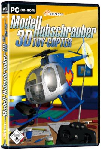 3D Modell Hubschrauber Toy Copter