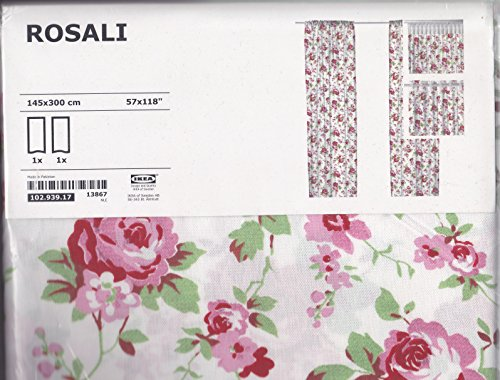 Ikea Rosali Gardinenschal - 2 Stück 145 cm x 300 cm