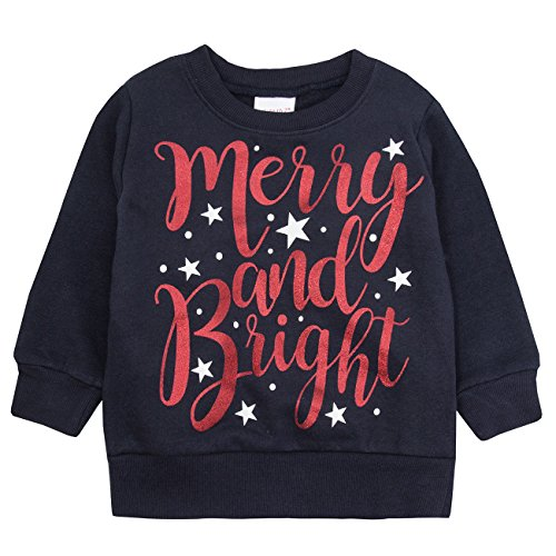 Best Deals! Childrens Christmas Jumper Long Sleeved Top