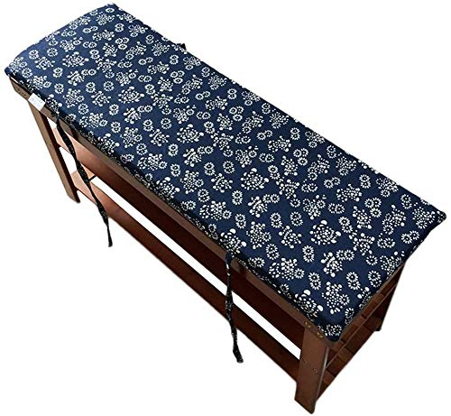HANHAN Gartenbank-Sitzkissen, Ersatzteil, 150 x 45 cm, Schaumstoffpolsterung, 2- oder 3-Sitzer, Bankmatte, Auflage für Holzbank, Metallbank, Schaukel oder Gartenstuhl, rutschfest