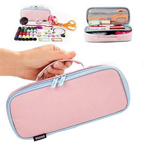 Jessie's Choice 裁縫セット ソーイングセット 裁ちばさみ チャコペン 裁縫 さいほうセット 裁縫道具 家庭科 大人 小学生 女の子 縫い糸 学校 授業 はさみ 携帯 さいほうセット 糸 裁縫箱 (pink)