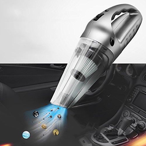 Voiture Portatif Chargement Sans Fil 12V Aspirateur Universel Sec Et Humide 120W Haute Puissance Aspirateur,Grayb