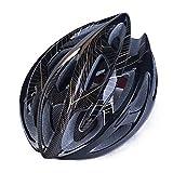 ZKDY Equipo para Montar En Bicicleta De Montaña para Adultos con Casco De Bicicleta Ligero.@Negro Rojo_Una Talla