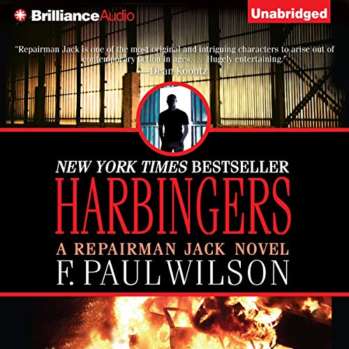 Harbingers audiobook cover art