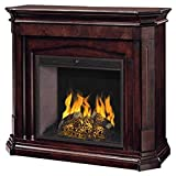 Pleasant Hearth Compton Electric Fireplace in Mocha Finish with 28' LED firebox - Item 285-58-61
