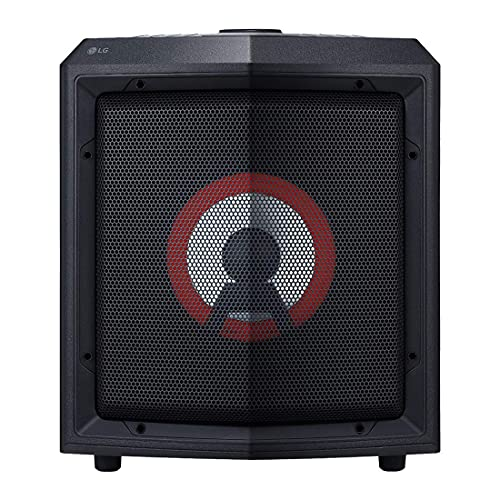 (Renewed) LG RL2 Bluetooth Party Speaker with Trolley and Party Lighting (Black)