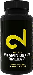 Dual Vitamin D3 K2 Omega 3 | Complejo Vitamínico Completo a Base