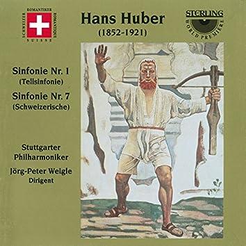 Huber: Symphonies Nos. 1 & 7