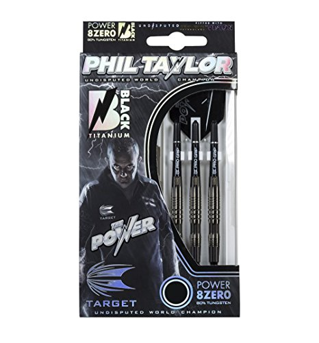 Target Darts Dartpfeile – Phil Taylor Power 8Zero Titan Soft-Tip Darts