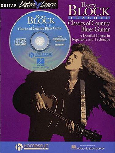Rory Block Teaches Classics of Country Blues Guitar (Guitar Listen & Learn)