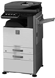 Sharp MX-M465N Tabloid-Size Monochrome Laser Multifunction Copier - 46ppm, Copy, Print, Scan, Auto Duplex, Network, Wirele...