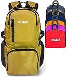 Roam Packable & Water Resistant Travel Backpack - Hiking Daypack For Men & Women