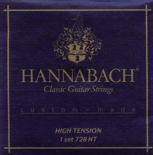 Hannabach 652697 Klassikgitarrensaiten Serie 728 High Tension Custom Made - Satz