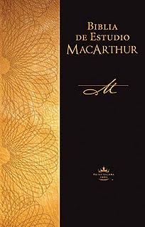 Biblia de estudio MacArthur (Spanish Edition)