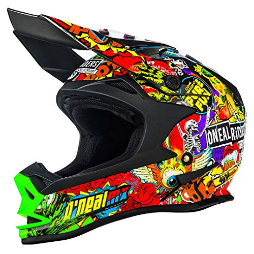 0583C-404 - Oneal 7 Series EVO Crank Motocross Helmet L Black Multi