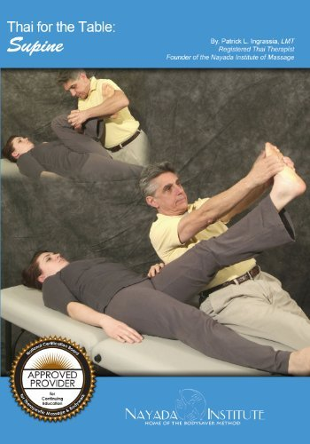 Thai Massage for the Table: Supine DVD
