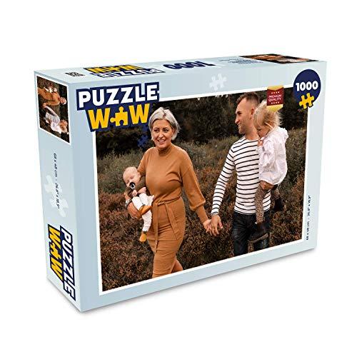 MuchoWow Ihr Foto auf Puzzle SOFORT ONLINE VORSCHAU Upload Ihr eigenes Bild auf Fotopuzzle, Fotopuzzle drucken, Persönliches Puzzlebild zusammenstellen (1000 Teile)
