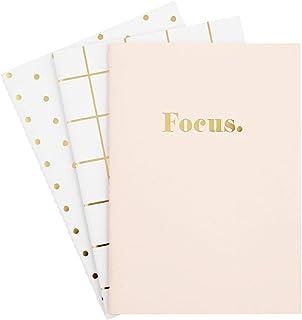 kikki.K - Cuaderno de notas (tamaño A5, 3 unidades)