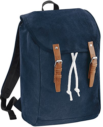 Quadra Vintage Rucksack French Navy