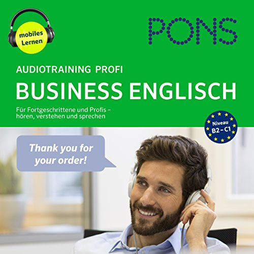 PONS Audiotraining Profi Business Englisch Titelbild
