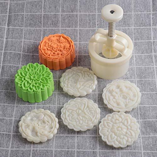 Juego de moldes para galletas, de Loty, con grosor ajustable, para decoración de pasteles, plástico abs, 180g 5pcs stamps