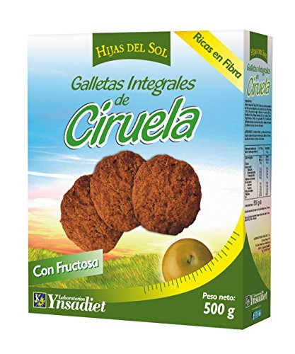 HIJAS DEL SOL Galletas Integrales de Ciruela - 500 gr