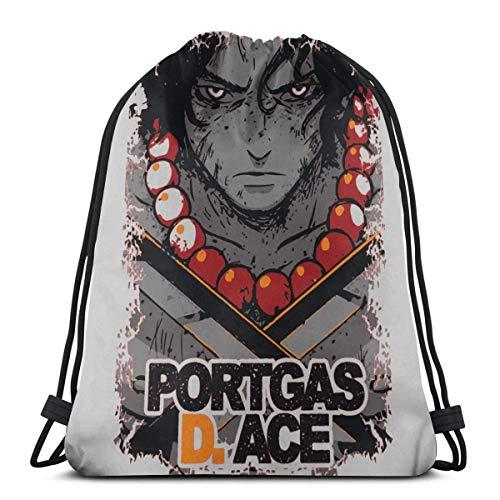 NotApplicable Cinch Bags Anime Sword Art Online Sinon Vintage Acogedor Impreso Impreso Casual Mochilas con Cordón Viaje Cinch Bolsas Durable Mochila Escolar con Cordón Escolar