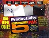 Productivity CD-ROM 5 PAK