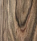 Aibote Sentimento di Inchiostro Fatto a Mano Legno di Ebano Impiallacciatura Foglio di Restauro Adesivo in Legno Naturale Materiale fai da te(Dimensioni Complessive: 20 x 250 cm;spessore: 0,25 mm)