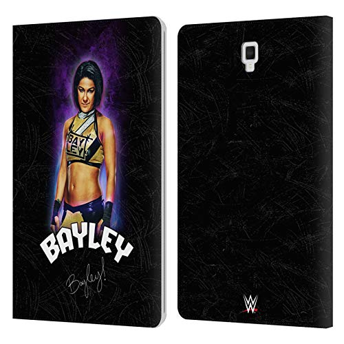 Official WWE Release Your Inner Bayley Leather Book Wallet Case Cover Compatible For Galaxy Tab S4 10.5 (2018)