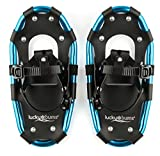 Lucky Bums Youth and Adult Snowshoes, Blue, 19-inch