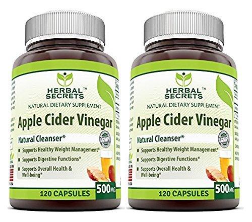 Apple Cider Vinegar Pills Herbal Secrets