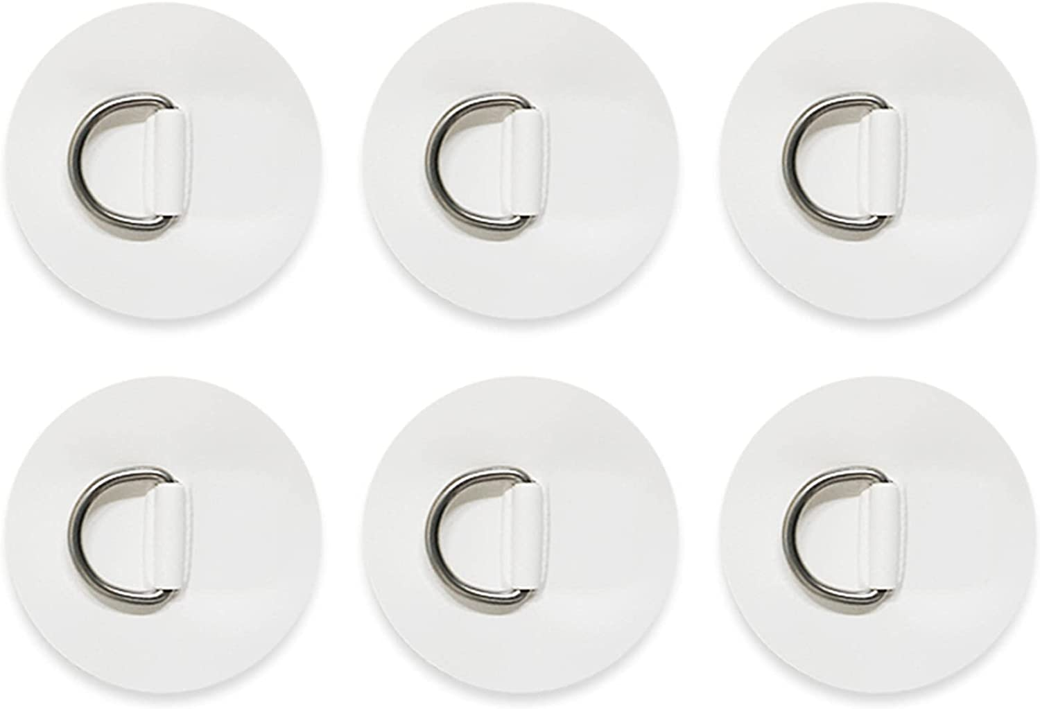 OSLEN 6 Pieces Stainless Steel Surf Pad Patch trust D Rings Max 45% OFF -3.15inch