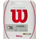 Wilson NXT Power 18 Gauge Natural Color Multifilament Tennis String 2-Pack (2 Sets Per Order)