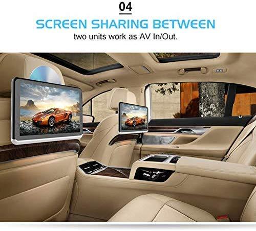 510ZWvi6RFL - A10 coche universal Full HD pulgadas Android 6.0 10.1 del asiento trasero del coche del receptor de radio MP5, soporte del espejo Enlace / Wi-Fi / FM, soporte del espejo Enlace, sin DVD de reproducció