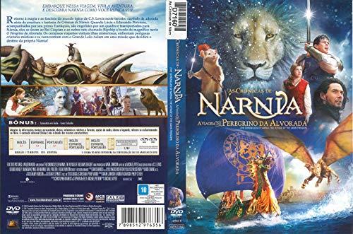 DVD As Cronicas de Narnia a viagem d peregrino da alvorada usado