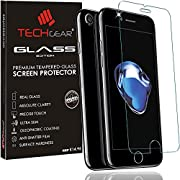 TECHGEAR GLASS Edition Genuine Tempered Glass Screen Protector Guard Cover for iphone 7