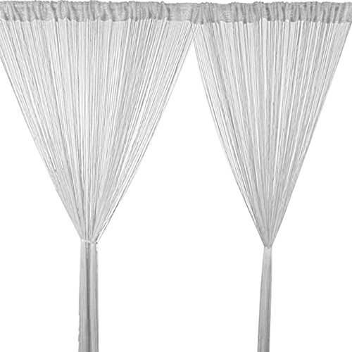 cortinas de tiras de hilo
