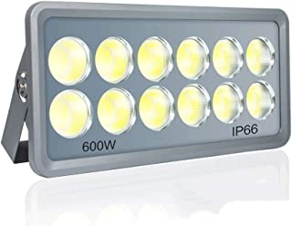 Wlnnes Led Floodlight Outdoor 600W Flood Lights Outdoor,Super Bright Security Lights,IP65 Waterproof Flood Light, 18500LM ...