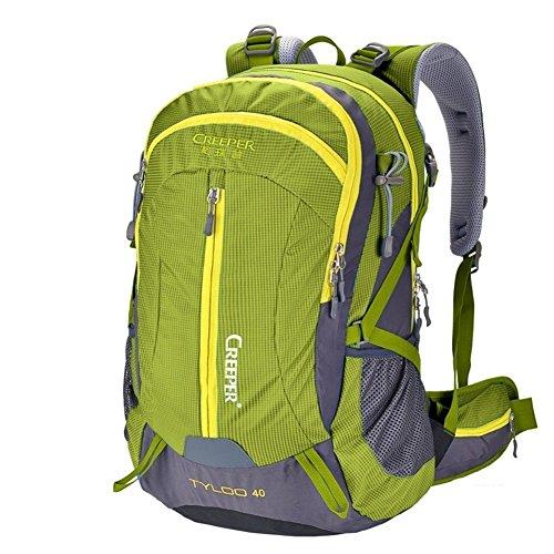 Backpack éclairage d'alpinisme/Sac extérieur étanche Sac à Dos/Sac à Dos randonnée/Camping Package-armygreen 50L