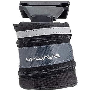 M-Wave Tilburg Bolsa Porta-Cámaras MTB, Unisex Adulto, Negro, L