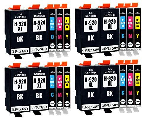Supply Guy 20 Druckerpatronen kompatibel mit HP 920 XL 920XL HP920XL C2N92AE passend für HP OfficeJet 6000 6500 6500a 6500a Plus 7000 7500a