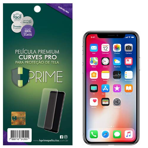 Pelicula Curves Pro para Apple iPhone X/XS, HPrime, Película Protetora de Tela para Celular, Transparente