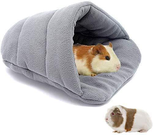 Cálida casa para cobayas, conejillos de Indias, accesorios, pequeño animal, cueva de peluche, cama para conejo, accesorio para hámster