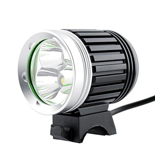 Generic Brands 3T6-Fahrrad-Scheinwerfer 4 Modi Der Lade Fahrrad-Scheinwerfer Mountainbike Lichter USB Fahrradbeleuchtung LED 6000 Lumen