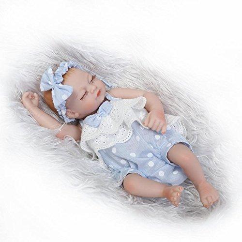 Funny House 10 Inch 26cm Full Silicone Vinyl Real Looking Preemie Reborn Baby Dolls Lifelike Newborn Girl Doll