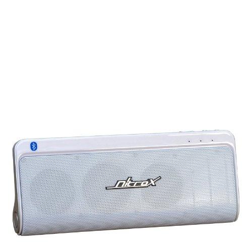 Inter-Tech M9 Bluetooth Lautsprecher (2X 3 Watt) Silber