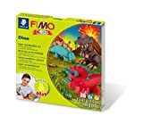 KIT PASTA FIMO KIDS DINOSAURIOS , Modelos/colores Surtidos, 1 Unidad