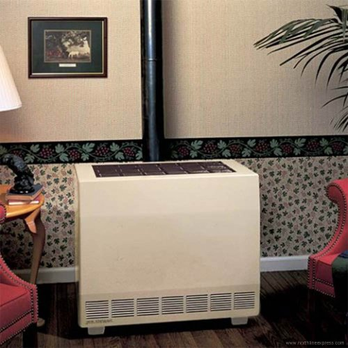 Empire Closed Front Room Heater W/Blower Liquid Propane 50000 BTU